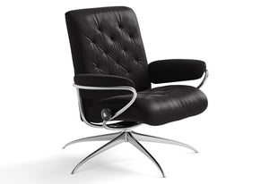 Metro Low Back High Base Recliner (Stressless by Ekornes)