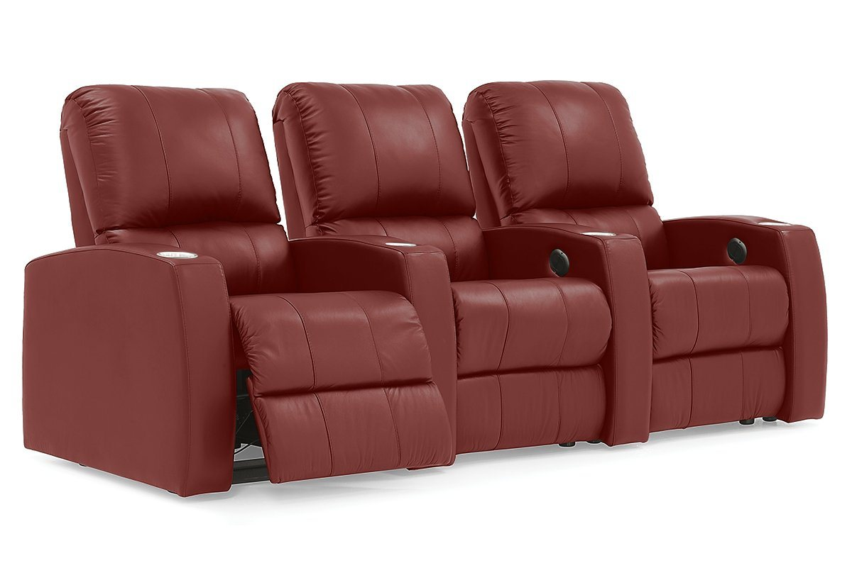 Pacifico Reclining Theater Seating Sofa (Palliser)