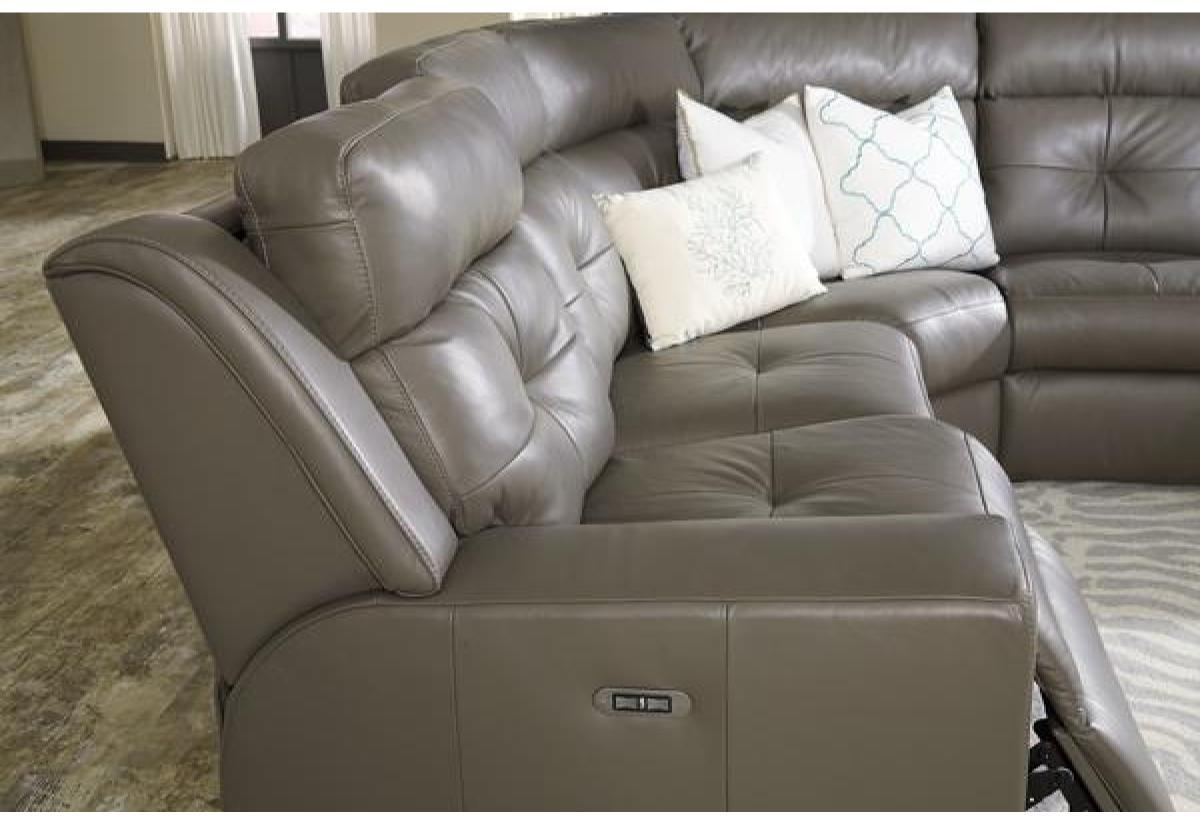 Grove Reclining Sectional Sofa (Palliser) - Recliners.la