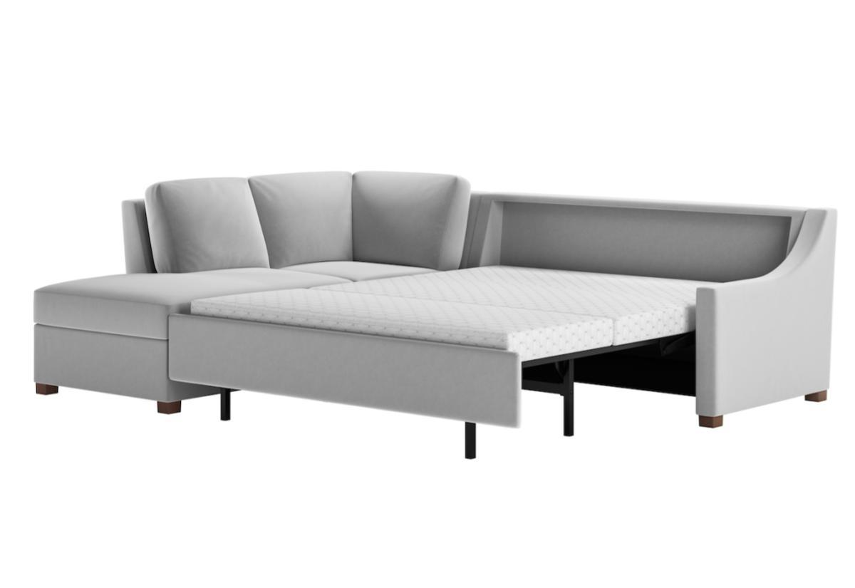 Perry Premier Sectional Sleeper Sofa (American Leather)