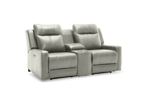 Redwood Power Reclining Love Seat W/ Console (Palliser)