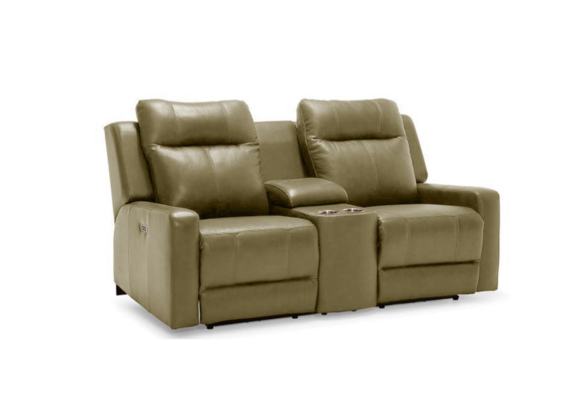 Redwood Power Reclining Love Seat W Console Palliser Recliners La ~ Sofa Recliner With Console