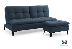 Sedona Sofa Sleeper w/ Ottoman - Full Size (Sealy)