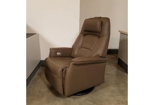 Stockholm Large Power Recliner Chair (Fjords) Safari