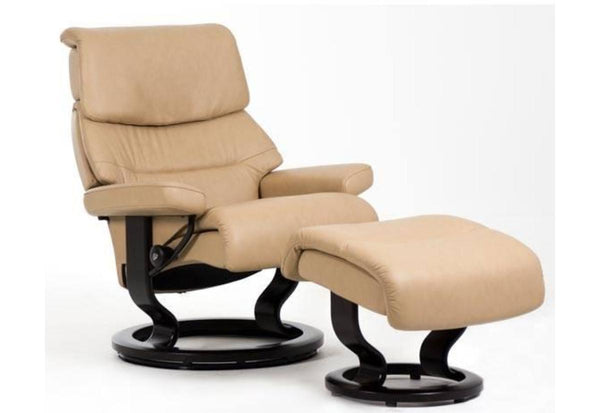 Capri Large Classic Recliner Amp Ottoman Stressless By