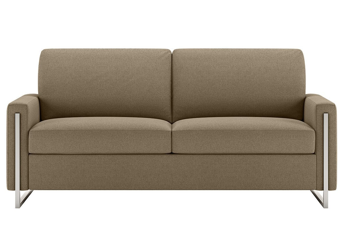 Ordinaire ... Sulley Gel Mattress Sleeper Sofa (American Leather) ...