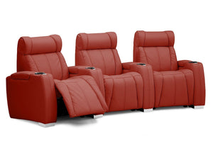 Turbocharger Reclining Theater Seating Sofa (Palliser)
