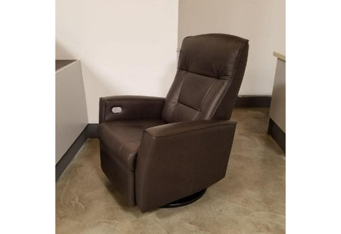 Relaxer Ulstein Large Power Swing Recliner (Fjords) Havana
