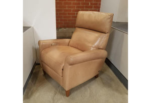 Adley Power Recliner V (American Leather) 7 Haven Heritage Leather Floor Model