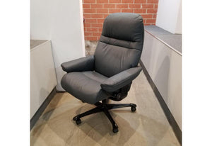 Sunrise Medium Office Desk Chair (Stressless by Ekornes) Floor Model