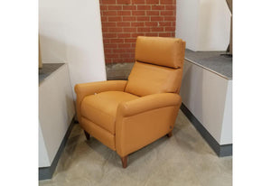 Adley Recliner V7 (American Leather) Capri Butterscotch Floor Model