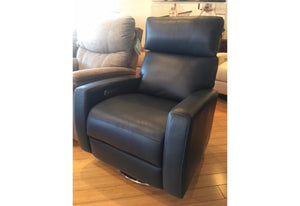 Elliot Power Comfort Recliner (American Leather) Version 7 Grade-H Satori Midnight Floor Model