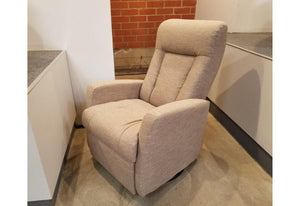 Banff Power Swivel Glider - My Comfort (Palliser) Key Largo Pumice Floor Model