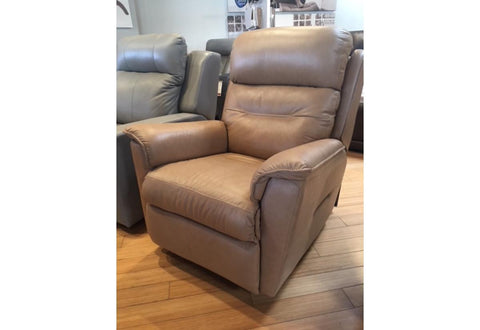 Linden Recliner Power Rocker (Palliser) Classic/Wheat/PVC Floor Model