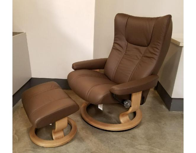 wing large recliner ottoman stressless by ekornes paloma
