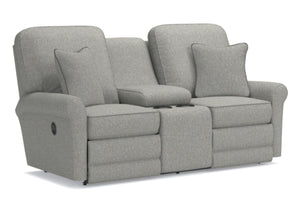 Addison Reclining Loveseat W/Console (La-Z-Boy)