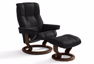 Mayfair Large Classic Recliner & Ottoman (Stressless by Ekornes)
