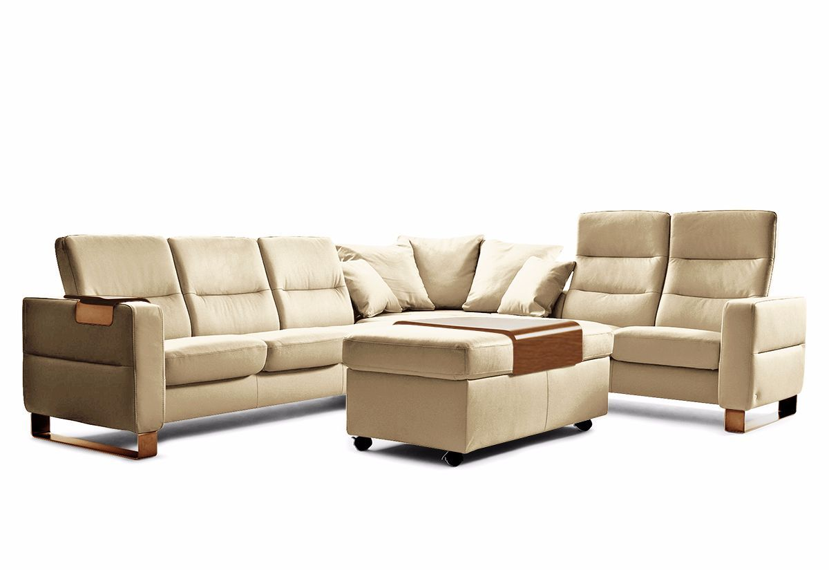 Wave Sectional Sofa - High Back Recliner (Stressless by Ekornes)