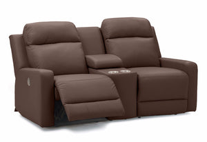 Forest Hill Reclining Loveseat W/ Console (Palliser)