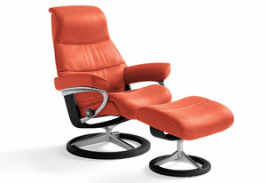 View Small Signature Recliner & Ottoman (Stressless by Ekornes)