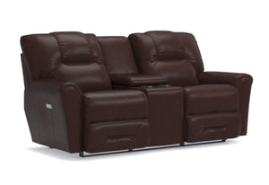 Easton Reclining Loveseat W/Console (La-Z-Boy)