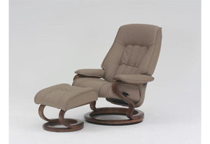 Elbe Recliner and Ottoman (Himolla)