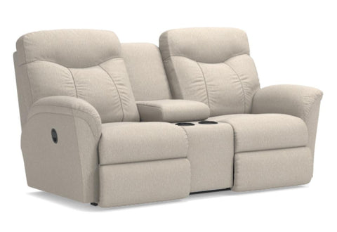 Fortune Reclining Loveseat W/Console (La-Z-Boy)
