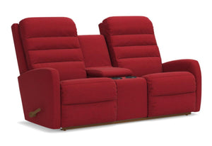 Forum Reclina-Way Full Reclining Loveseat W/Console (La-Z-Boy)