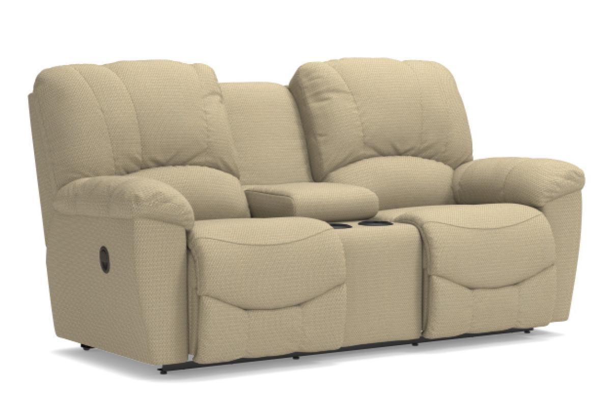 Swell Hayes Reclining Loveseat W Console La Z Boy Creativecarmelina Interior Chair Design Creativecarmelinacom
