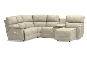 Trouper Reclining Sectional (La-Z-Boy)