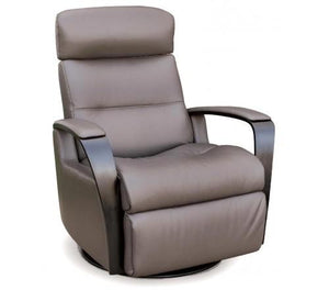 Peak Relaxer Medium Power Recliner Chair (IMG) Trend Smoke Leather