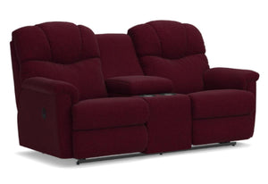Lancer Reclining Loveseat W/Console (La-Z-Boy)