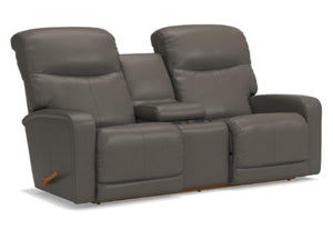 Levi Reclina-Way Full Reclining Loveseat W/Console (La-Z-Boy)