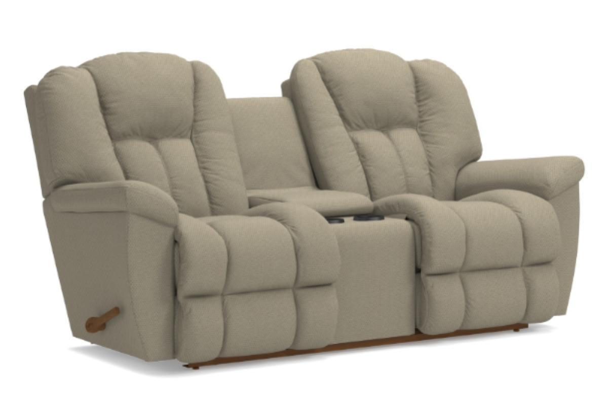 Maverick Reclina-Way Full Reclining Loveseat W/Console (La-Z-Boy)