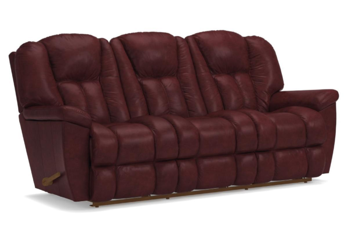 maverick sofa leather claret