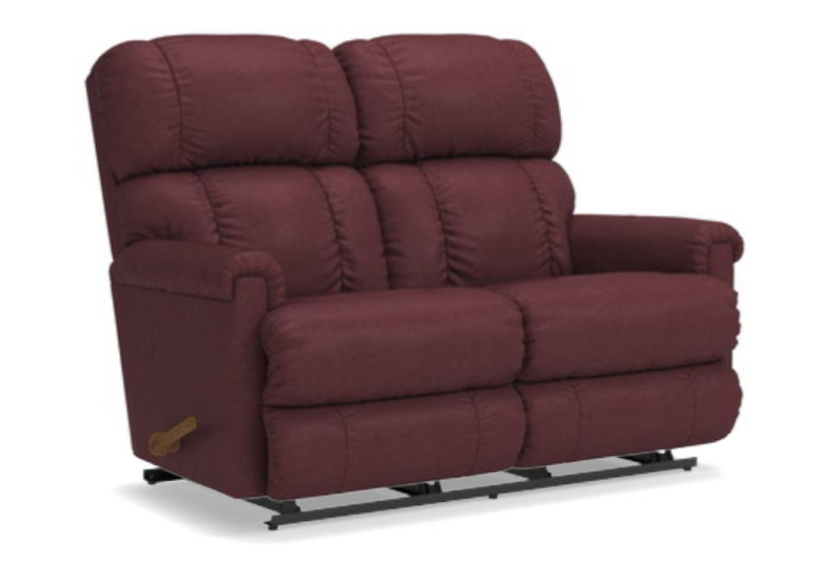 Outstanding Pinnacle Reclining Loveseat La Z Boy Short Links Chair Design For Home Short Linksinfo