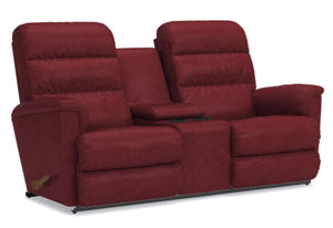 Tripoli Reclina-Way Full Reclining Loveseat W/Console (La-Z-Boy)