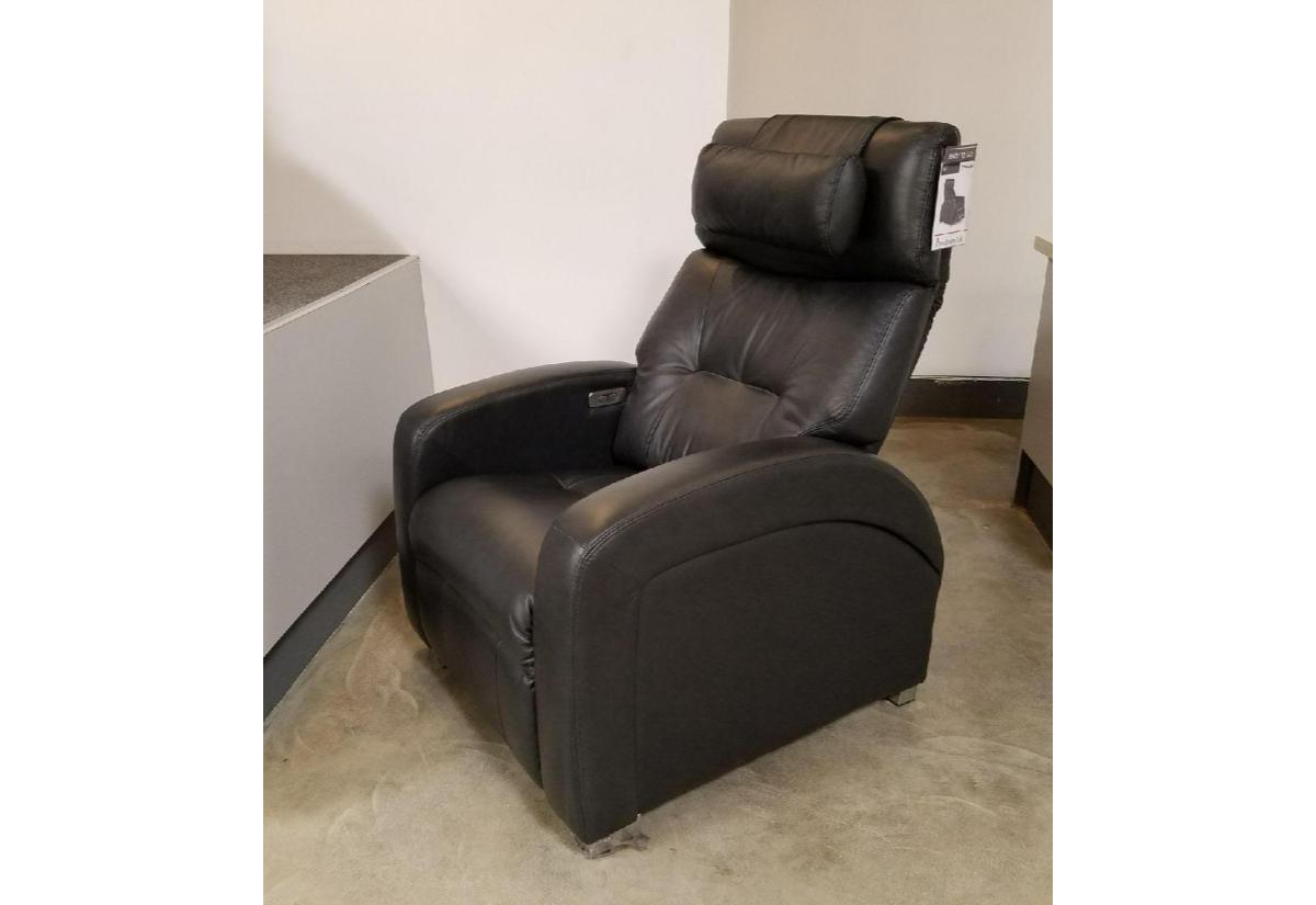 human recliner black recliners pc perfect by touch leather features zero gravity showroom itm chair