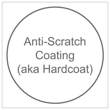 Prescription Lens: Anti-Scratch Coating