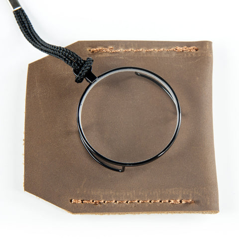 Leather Monocle Case in Brown
