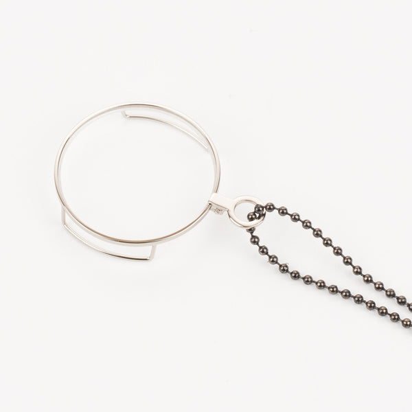 Ball Chain Lanyard - Gunmetal