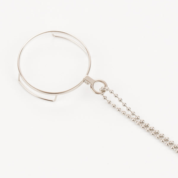Ball Chain Lanyard - Nickel Plated Steel