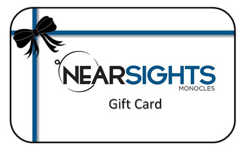 Nearsights Monocles Gift Card