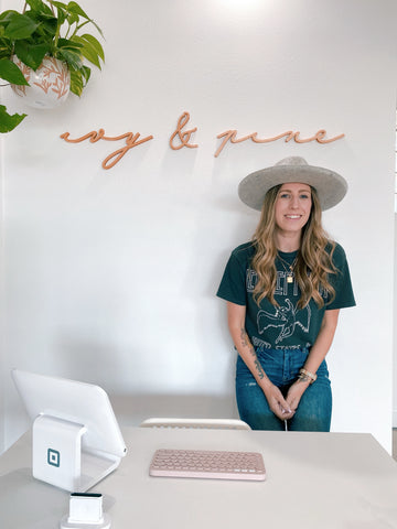 Owner of ivy & pine
