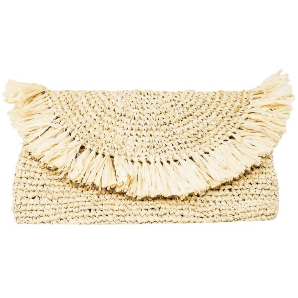 Clutch - Lark Clutch | Natural - ivy & pine