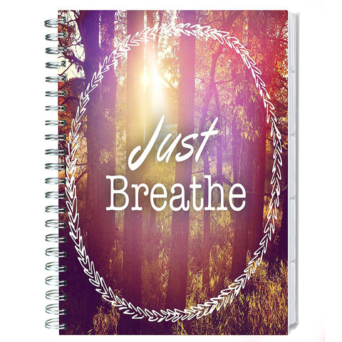 2017-2018 Planner - Just Breath - April Edition