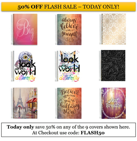 1-Day Flash Sale - 50% OFF