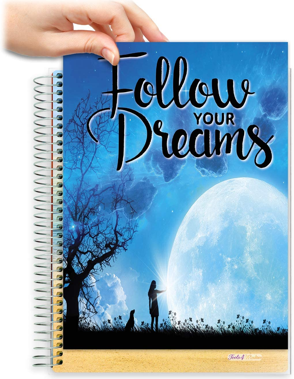 8.5x11 Customizable Softcover Planner • April 2021 to June 2022 Academic Year • Follow Your Dreams