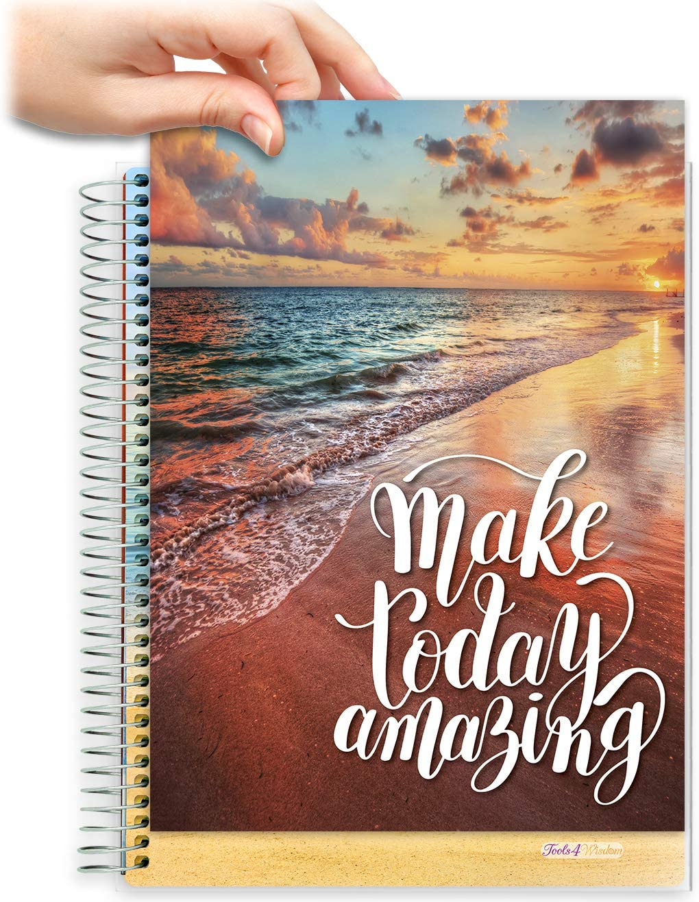 8.5x11 Customizable Softcover Planner • April 2021 to June 2022 Academic Year • Make Today Amazing