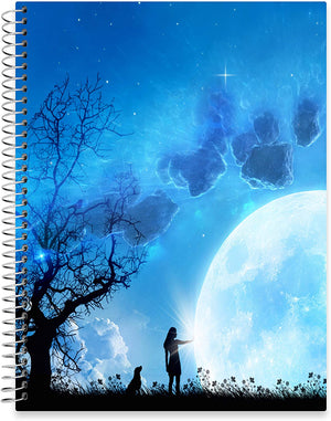 "July 2020 - June 2021 Softcover Planner - 8.5"" x 11"" - Multiverse Cover"